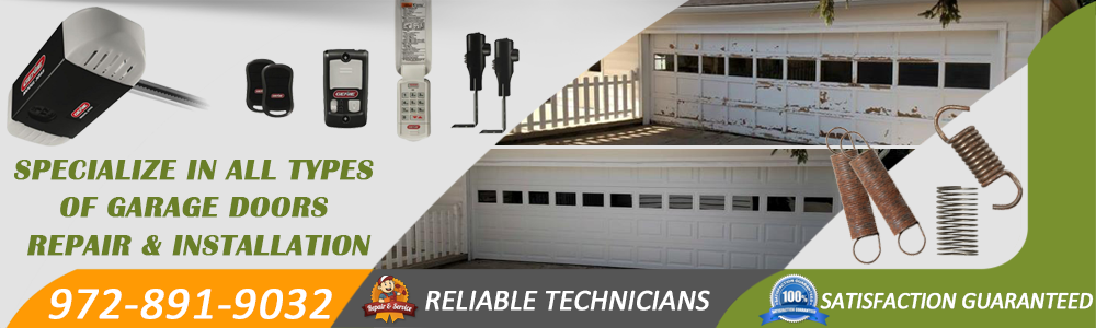 Garage Door Repair Terrell TX banner