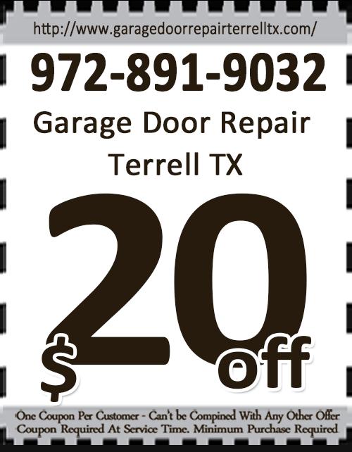 Garage Door Repair Terrell TX Coupon